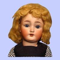Bleuette-sized Mohair wig from Bravot---Denise Dark Blonde---Free shipping