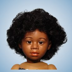 """""""Afro"""" human hair wig from Bravot--Bleuette size---Free shipping!"""