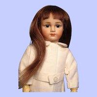 "Long human hair wig from Bravot---7"" circumference---Free shipping!"