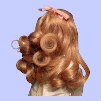 "Human Hair wig ""Clara"" by Bravot in 7"" circumference--Free Shipping!"