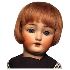 """Bravot Bleuette-sized """"Luc"""" wig in warm brown human hair....Free shipping!"""