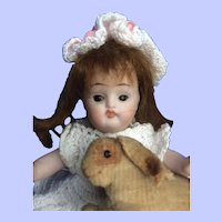 Especially Darling All Bisque Doll. 4 3/4""