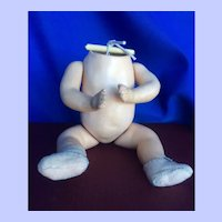 "6"" Composition Body.  For Baby or Googly head."