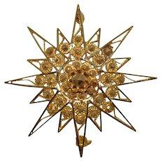 Star Burst Brooch/Pendant