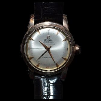 Rose Gold Men's Omega Watch