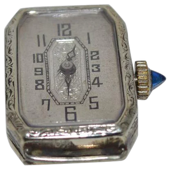 Swiss Watch with Saphire Crown