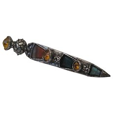 Scottish Thistle Sword Pin