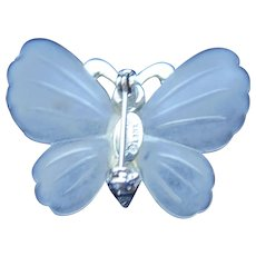 Kenneth Jay Lane Resin Butterfly Pin