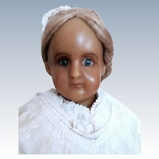 "Reinforced Wax Doll 26""  Marked 7 on Body"