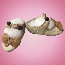 Early Bru Jne Doll Shoes--ON LAYAWAY