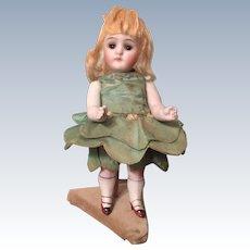 "All Original Bisque German Doll Marked  620 5.5"""