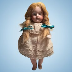 """5"""" All Bisque Barefoot  Doll marked 257 SWC"""