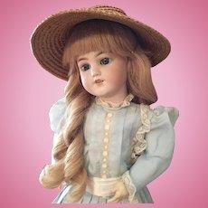 """Simon and Halbig German Bisque Doll Santa 7 18"""""""
