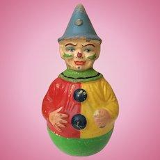 """Schoenhut Roly Poly Clown 12"""""""