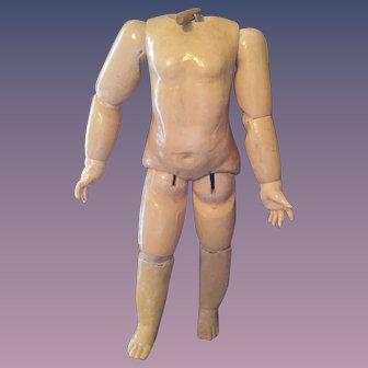 """Huge Chunky  French Doll Body 22.5"""""""