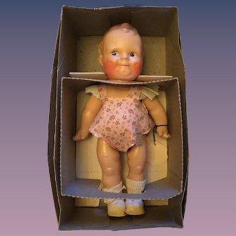 "Cameo Kewpie Doll Scootles created by Rose O'Neill Original Box 12"""
