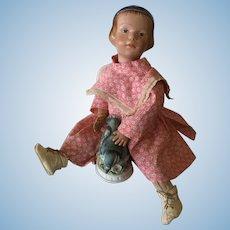 """14"""" Schoenhut 105 Doll"""