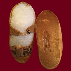 Alart Depose French Doll Shoes Marked 9