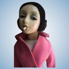 "Cubeb Smoker Boudoir Doll 25"""
