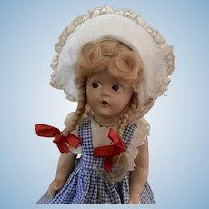 "9"" Composition Madame Alexander Mcguffey Ana Doll"