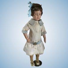 """16"""" Schoenhut Doll 300 series Original Outfit"""