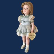 """18"""" Effanbee Composition """"Little Lady Doll"""" 1940-50's"""