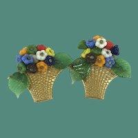 Delightful Bouquet of Flower Dress Clips
