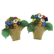 Delightful Bouquet of Flower Dress Clips