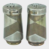 Los Castillos Married Metals Salt and Pepper Shakers