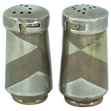 Los Castillos Married Metals Salt and Pepper Shakers