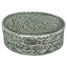 Sweet Repousse Italian Pill Box