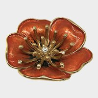 Sweet Autumnal Flower Brooch by Monet