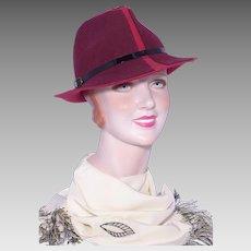 af787db05208d 1990s Wool Felt Fedora Hat Sold at Nordstrom