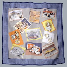 Silk Scarf US Open Tennis Championship 1998