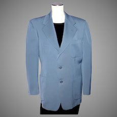Vintage 1940s-50s Plateau Timely Clothes Mens Suit Coat Jacket Pacific Mills