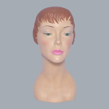 Marge Crunkleton Reproduction Mannequin Head Liz Vintage Style