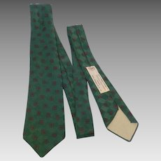 Vintage 1950s Welch Margetson Tie England