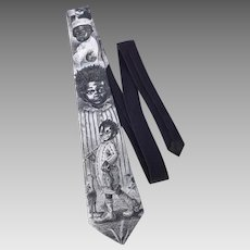Ralph Marlin Buckwheat Our Gang Necktie 1991 Blaine Heilman