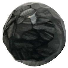 Beautiful Black Bakelite ring