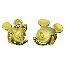 Wendy Gell for Disney – Mickey and Minnie Mouse Earrings – 1980s