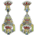 Vintage Heidi Daus Art Deco style Chandelier Earrings – Massive