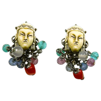 Selro Thai Girl/Asian Princess Dangle Cha-Cha Earrings