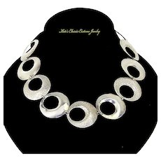 Denmark Sterling Silver Modernist Necklace – KAP – K.A. Petersen Silversmith