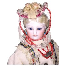 Fabulous French Fashion Doll Hat