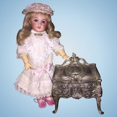 ON SALE French Jewelry Casket Perfect Accessory For Dolls