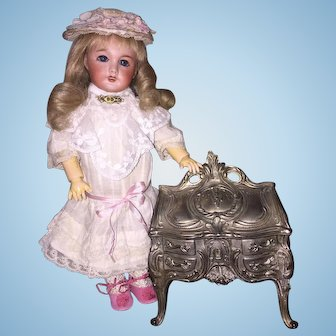 French Jewelry Casket Perfect Accessory For Dolls