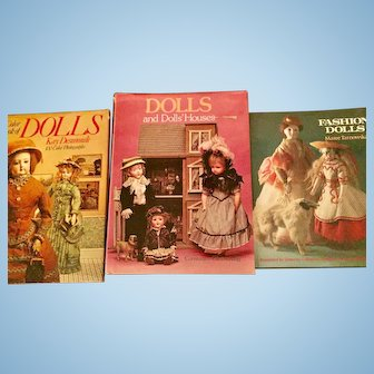 Three Fabulous Doll Reference Books