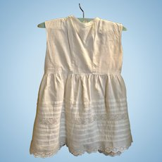 Child's Dress or Petticoat for Large Doll