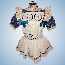 Beautiful Dress for French or German Doll