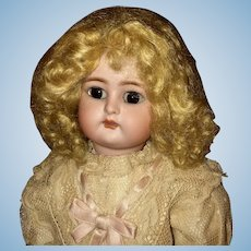 Blond Mohair Wig Size 7-8 for French or German Doll